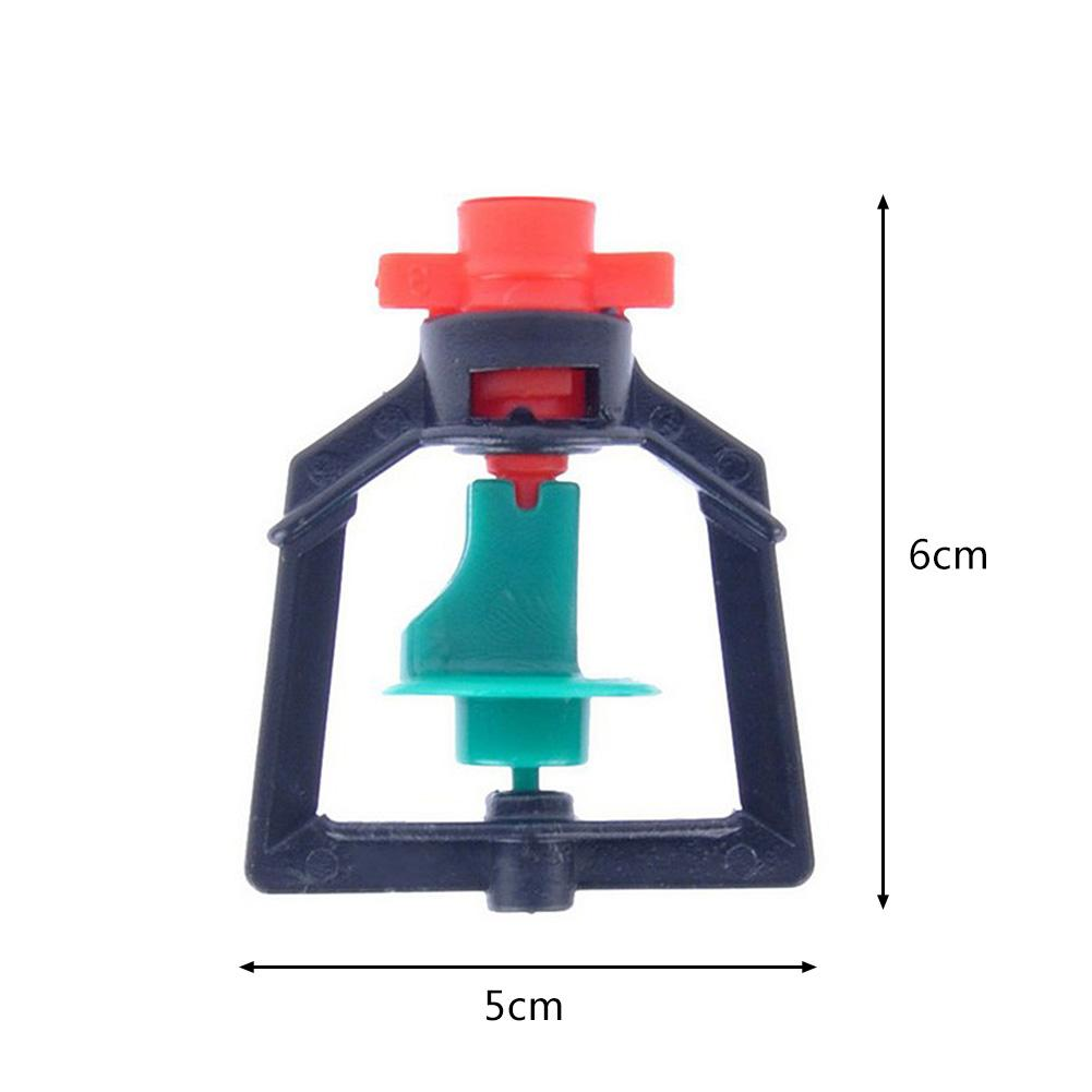 Image 5 - 10PCS 360 Degrees Rotary Micro Nozzle Refraction Micro Spray Irrigation Pipe Adapters Inverted Nozzles Atomizing Parts-in Sprayers from Home & Garden
