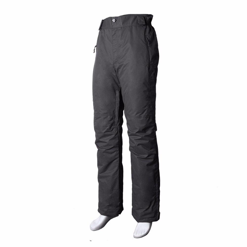 Pantalon de ski professionnel imperméable coupe-vent pour femme taille élastique épaisse pantalon de patinage de Snowboard chaud pour femme