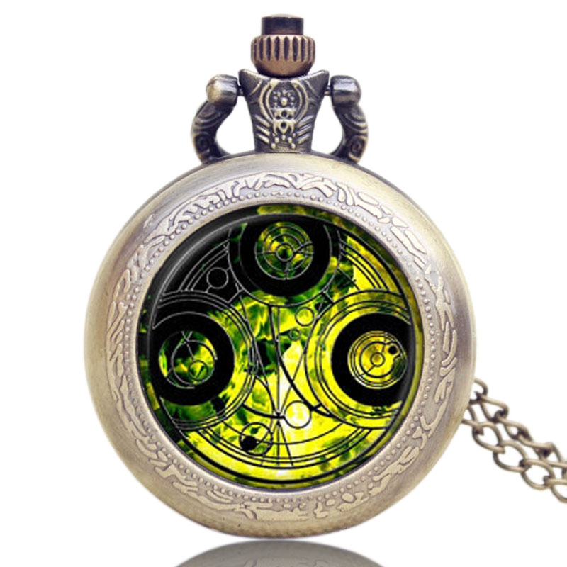 Doctor Who Quartz Pocket Watch Women Clothes Sweater Men Vintage Pendant lady Girl Gift uk movie doctor who pocket watch men quartz fashion necklace dr who luxury gift box set best gift free shipping