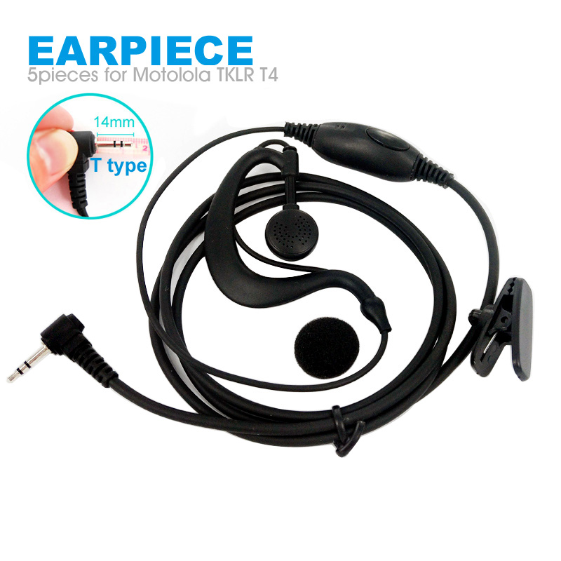 Earphone with mic for Motorola Talkabout FR50 FR60 T5400 T280 T6200 USA