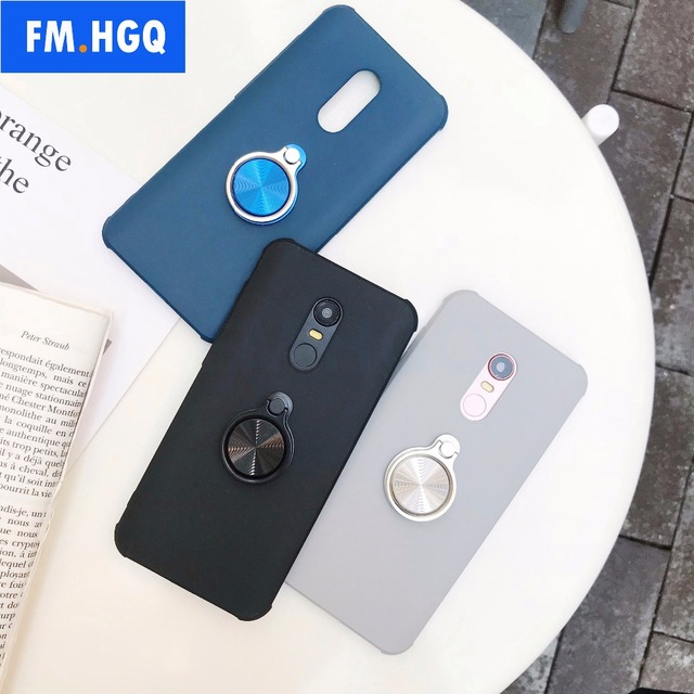 low priced 45313 8b10e US $7.35 8% OFF Ultra Thin Magnetic Car Holder Case For Xiaomi Redmi 5 Plus  Case Finger Ring Phone Cover For Xiaomi Redmi 5 Redmi 5A Cover Capa-in ...