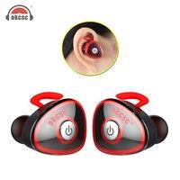 OKCSC HC S0362 TWS Bluetooth Wireless Stereo Earphones Sports Earphones Hifi Binaural Earphones For IPhone Android