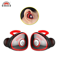 OKCSC HC S0362 TWS Bluetooth Wireless Stereo Earphones Sports Earphones Hifi Binaural Earphones For IPhone Android