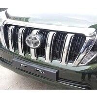 ABS Chrome решетка покрытие автомобиля Стикеры подходит для Toyota Prado 2700 2014-2016 автомобиль Средства для укладки волос