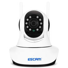 TYIYEWH ESCAM G02 720P Wireless WIFI IP Camera Home Security Pan/Tilt Camera w/ Night Vision Two-way Audio For Baby Elder Pet