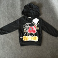 Hot  Sale 2017 new children's classic  Hoodie with Long Sleeve warm all-match cartoon