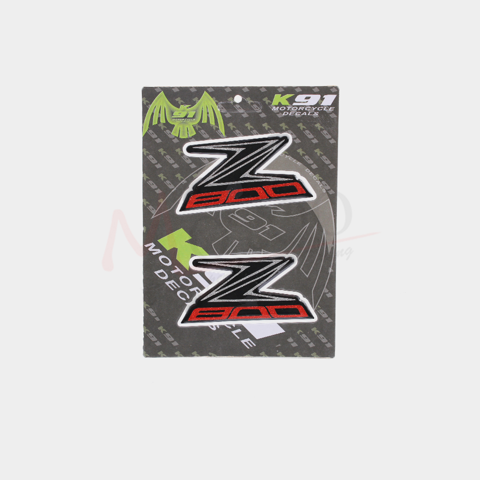Motoo - Motorcycle Decals Stickers Emblem Badge 3D Raised Tank For YAMAHA R1 R6