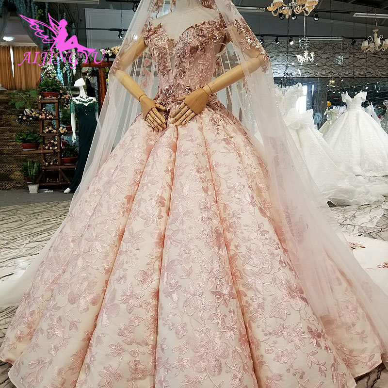 AIJINGYU Petite Wedding Dress Gowns Chile Sexy Bride Korean Uk Affordable Stores Buy Gown Turkey Bridal Dresses - 4