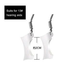 Image 3 - 100 個 BTE 補聴器保護スリーブホルダーカバージャケット保護脱落から補聴器