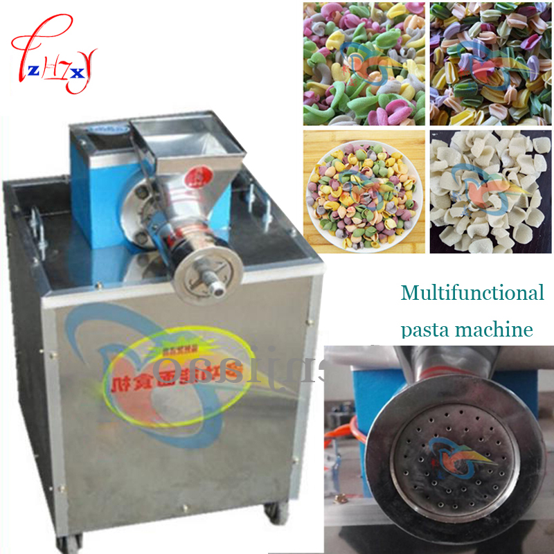 60 type Multifunctional food flour / macaronis / crispy shell / pizza rolls / sea shell making the machine|machine machine|machine making|shelling machine - title=
