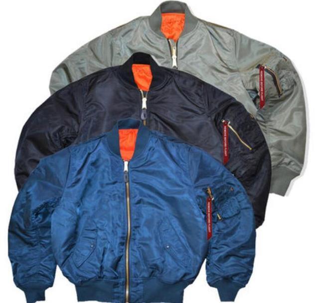 Bomber jacket MA-1 Air Force pilot jacket cotton padded jackets and aviation loose coat big baseball uniform coat