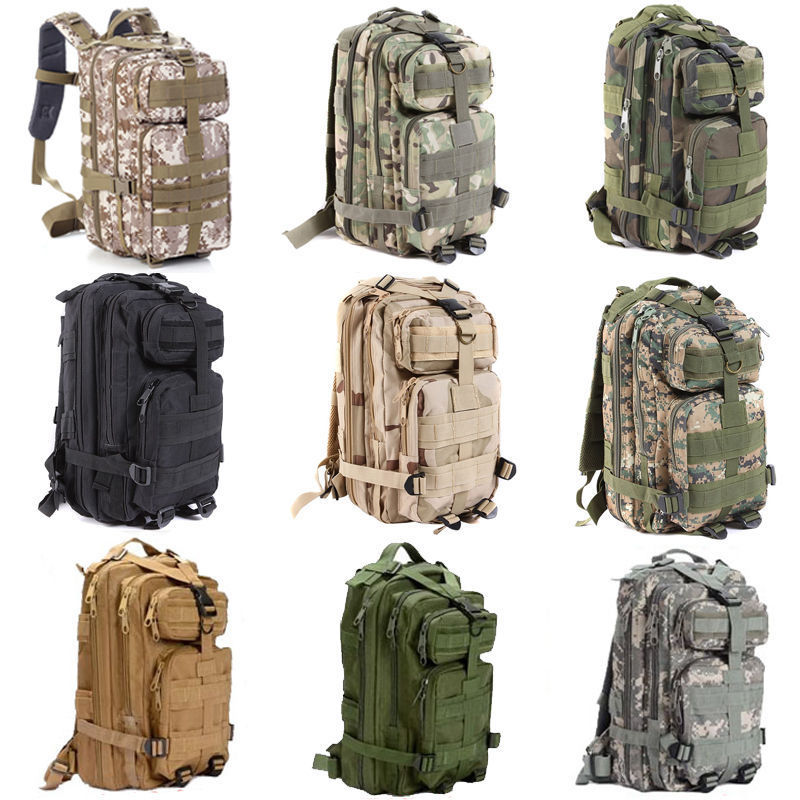 TECHWILL 9 Colors Outdoor Military Tactical 30L Backpack Waterproof Camping Hiking Trekking Bag Rucksacks outlife new style professional military tactical multifunction shovel outdoor camping survival folding spade tool equipment