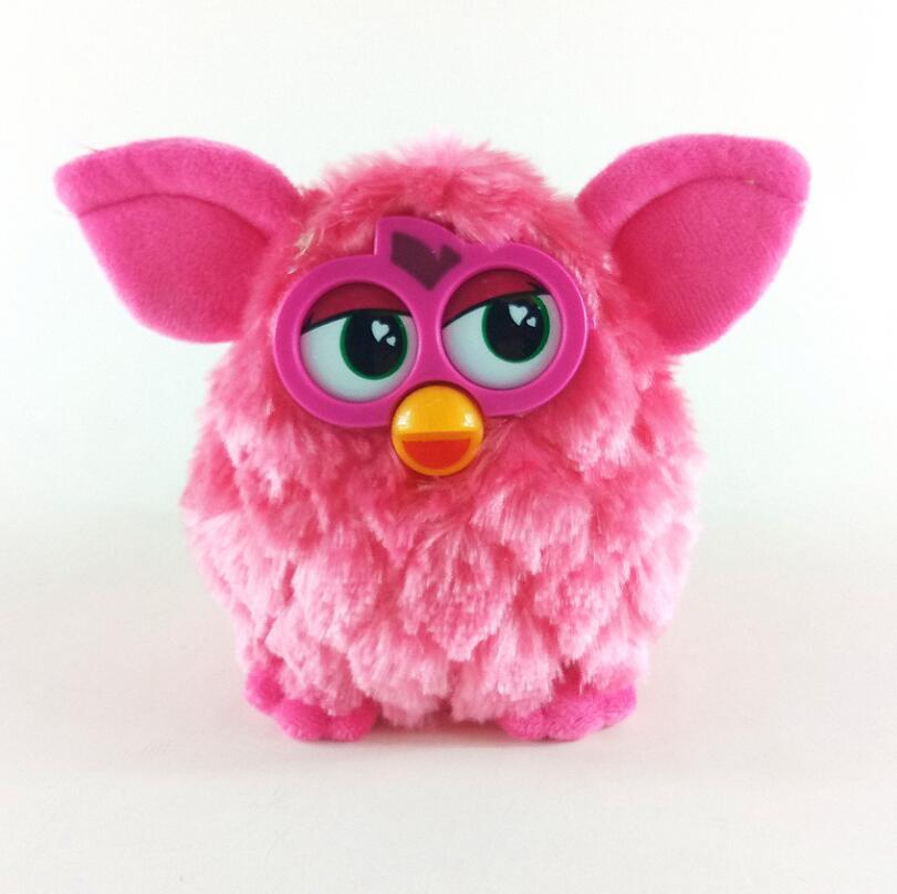 15 cm Electronic Animali Furbiness Boom Parlare Phoebe Animali Gufo Registrazione Elettronica Interattiva Per Bambini Giocattoli Regalo di Natale
