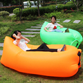 Inflatable Lazy Sleeping Sofa Bed Portable Travel Outdoor Folding Sofa Beach Chair One Seat Bag Furniture Free Shipping H135