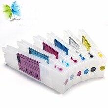 T6941-T6945 printer ink cartridge for Epson SureColor T3270 T5270 T7270 refillable cartridges