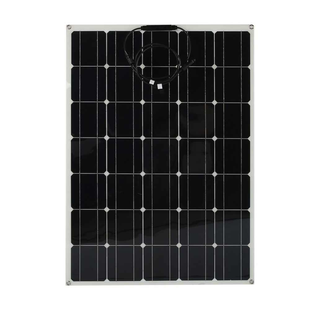 2019 New Universal Monocrystalline Solar Panel Flexible 150w Solar Battery Charger High Efficiency Camping Power Supply Solar Panel Aliexpress