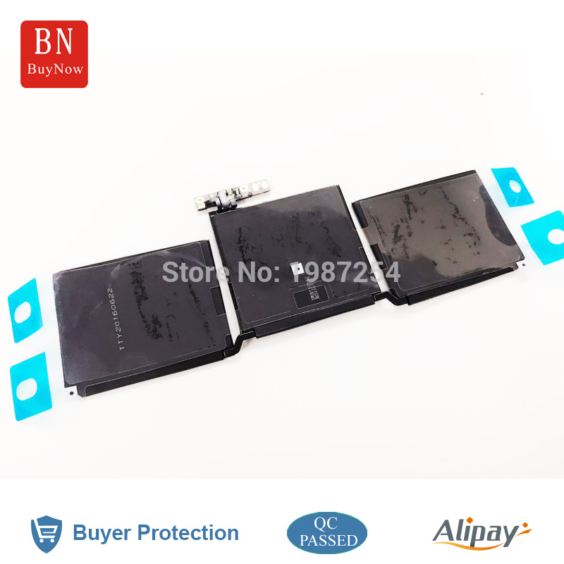 Genuine Cell New A1713 Battery For Apple MacBook Pro 13'' A1706 A1708 Battery 2016 MLL42CH/A MLUQ2CH/A free shipping new genuine 12 a1534 laptop a1527 battery for apple macbook air 12 inch a1527 battery a1534 2015 7 55v 40 28wh