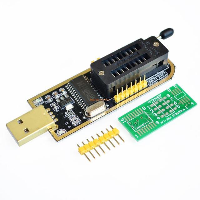 CH341A 24 25 серии EEPROM Flash BIOS USB программатор с Программы для компьютера и водитель