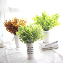 Artificial Green Plant Single Real Touch Succulent PU For Wedding Party Home Room Garden Wall DIY Decoration Wholesale