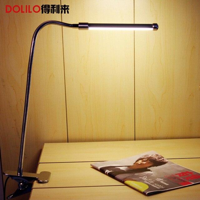 Flexible LED desk lamp 220v kid reading lamps for book USB computer light modern led reading lamp clip warm white/cool white