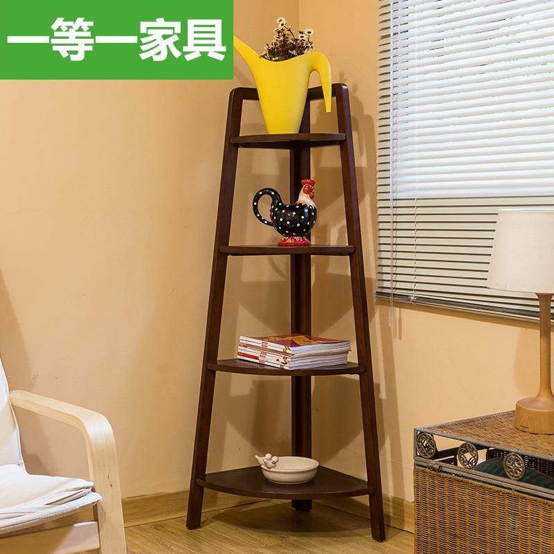 Ikea Shelving Racks Triangle Wood Floor Corner Shelf
