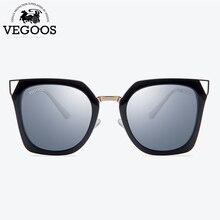 e7806bb3b717b VEGOOS Polarizados Quadrado Único Olho de Gato Óculos De Sol Das Mulheres  Unisex TAC Lente Original Design Retro óculos de Sol Ó..