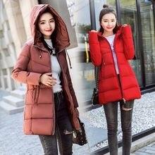 Brieuces 2019 new women down cotton jacket winter coat parka padded Woman Winter Jacket Coat