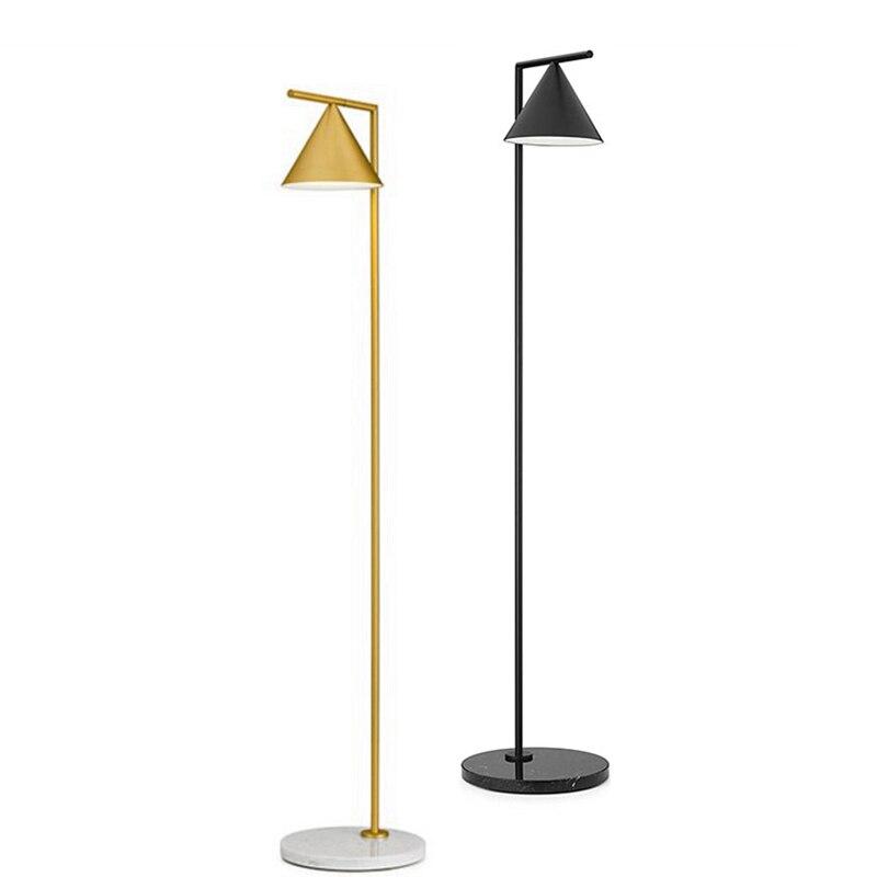 Nordic arte conduziu a lâmpada de assoalho olho-proteção brilho moderno pé luz do assoalho para casa sala estudo leitura cabeceira
