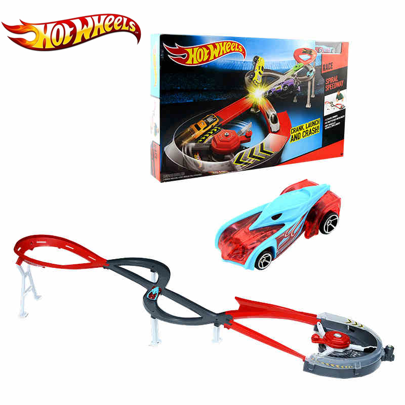 Hot Wheels Track Suit Plastic Matel Miniatures Car Track Big Size Hotwheels Toy Model X2589 Classic Track For Birthday Gift hot wheels sport car toy plastic track vehicles kid toys hot sale hotwheels cars track x2586 multifunctional classic boy toy car