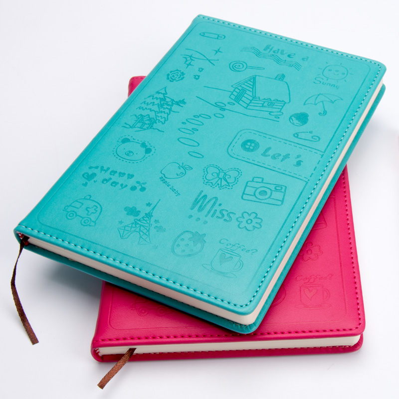 Dotted Hard Cover Creative Notebook Stationery Dagbok Business - Block och anteckningsböcker - Foto 4
