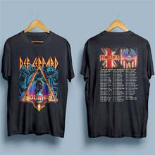 f3e84787 Rude T Shirts Crew Neck Short-Sleeve Summer Def Lepard Journey Tee Shirt  For Men