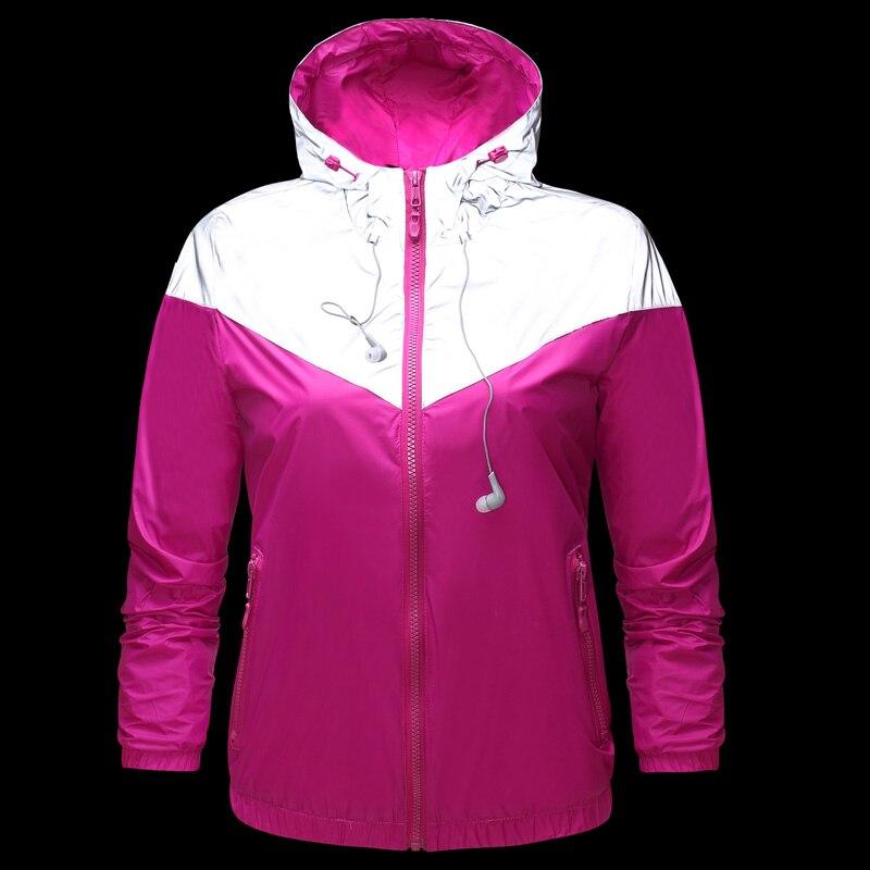 Sport & Unterhaltung 2019 Frauen Lauf Sport Jacken Polyester Langarm Fitness Kapuzen Laufen Jacke Frauen Laufsport T-shirt