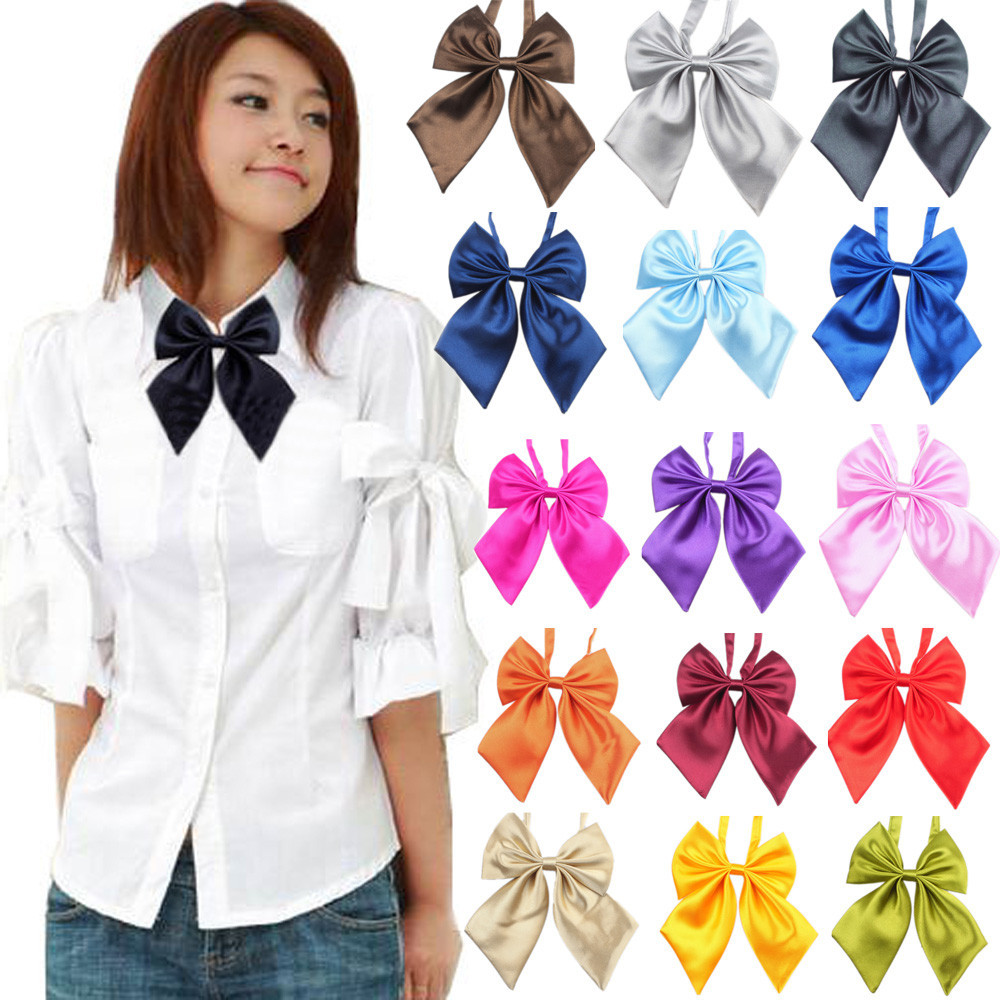 Fashion Unique Soft Womens Girls Novelty BIG Bow Comfortable Tie Wedding Gift L50/0107