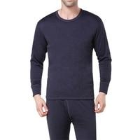Winter Mens Long Johns Warm Thermal Underwear Mens Long Johns Black Underwear Sets Thick Plus Velet