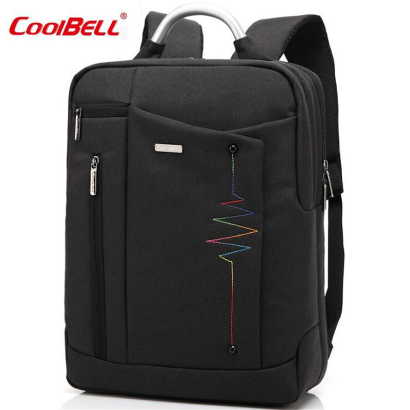 Cool Bell Waterproof Notebook Backpack14-15 inch Multifunctional Laptop Backpack Shoulder Bag for Men Women Computer Bag M628 jacodel laptop bagpack 15 inch notebook backpack travel case computer pc bag for lenovo asus dell notebook 15 6 inch school bags