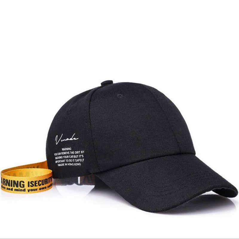 e7f2773be 2019 Women Baseball Cap Korea Star Yellow Black Curved Dad Hats Men ...