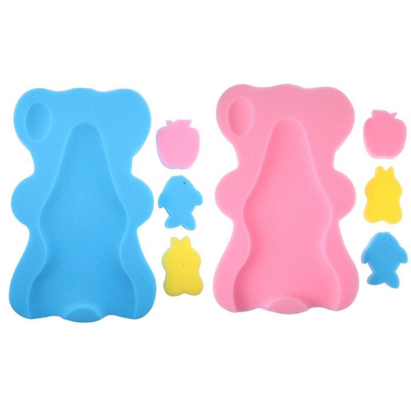 Esterilla de baño de bebé Esponja antideslizante Estera de baño de - Cuidando a un niño