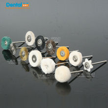 20 pcs Dental Lab Brush Polishing Wheel Polishers untuk Rotary Tools 2.35mm 10 pcs / set