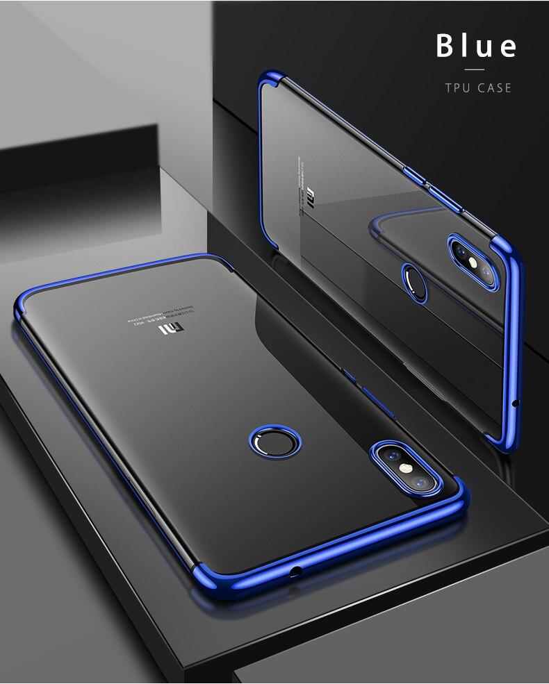 Case Capinha Capa de celular luxuosa original, capa tpu macio transparente, para xiaomi mi 8 mi8 se, xiaomi 8 lite explorer