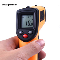GM320 Digital Laser LCD Display Non Contact IR Infrared Thermometer 50 To 380 C Car Diagnosis
