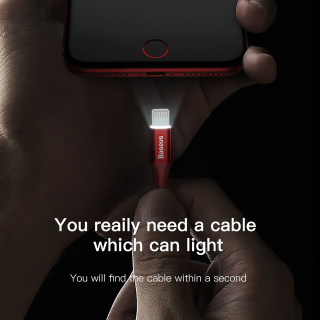LED lighting Charger Cable For iPhone
