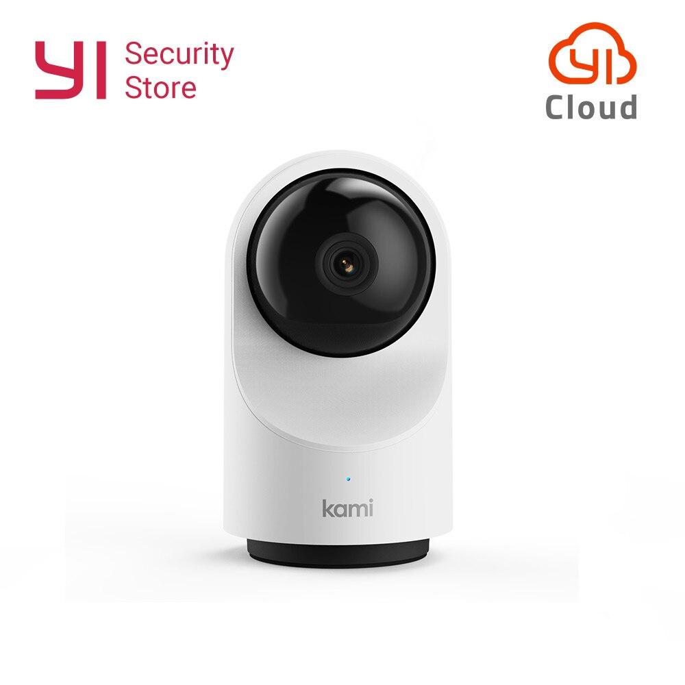 YI Kami intérieur Smart Home 1080 P caméra IP Cam Surveillance de sécurité suivi de mouvement 2 voies Audio Mode de confidentialité 6 mois nuage gratuit