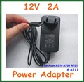 10pcs 12V 2A Wall Home Charger EU US plug for Acer Iconia Tab A510 A700 A701 Tablet PC 10.1 inch Power Supply Adapter