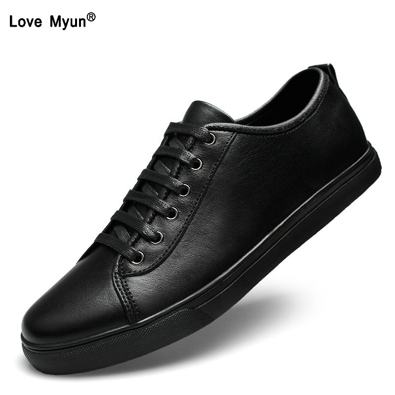 Brand Genuine Leather Men Casual Shoes Spring Summer 2018 New Arrival Breathable Soft Men's Handmade Flats Men Shoes 2016 brand new arrival spring summer men sjean slim regular fit stretchjeans pantalones vaqueros hombre calca asculina ml30