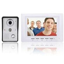 7 بوصة lcd الفيديو باب الهاتف الجرس إنترفون كيت 1 monitor hd 700tvl كاميرا للرؤية الليلية مع IR CUT