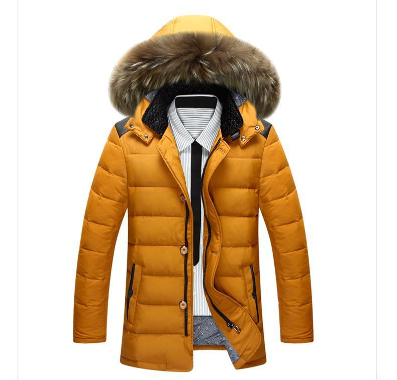 Men Fashion Brand Man Coat Thick Coats Jackets Warm Men's Outdoors Hooded Overcoat Plus Size