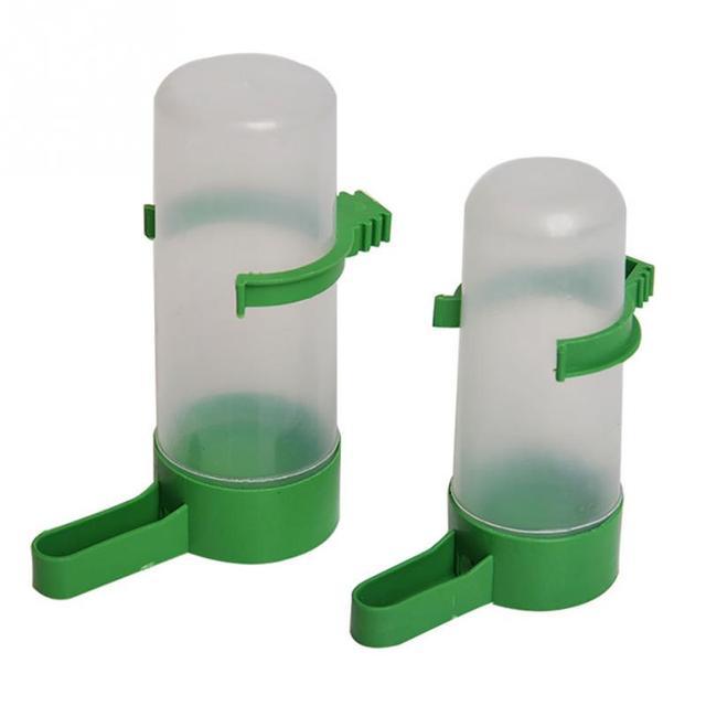 1pcs Bird Pet Drinker Feeder Waterer Clip for Aviary Budgie Cockatiel Lovebird farming equipment Free Shipping