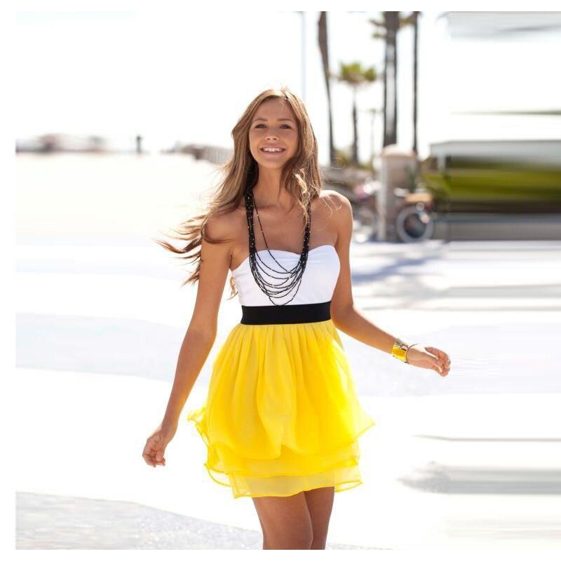 Popular Yellow Skirt Women-Buy Cheap Yellow Skirt Women lots from ...