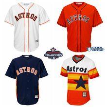 huge discount 84356 495f3 houston astros blank orange new cool base stitched baseball ...