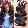 Brazilian Body Wave 3 Bundles Brazilian Virgin Hair Body Wave Wet and Wavy Virgin Brazilian Hair Weave Bundles Remy Human Hair